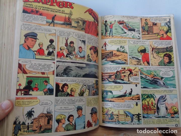 Tebeos: ¡¡ TINTIN, RECUEIL GEANT. LE JOURNAL DES JEUNES DE 7 A 77 ANS. 1963 -64. !! - Foto 10 - 238396015