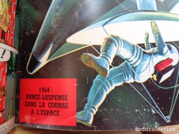 Tebeos: ¡¡ TINTIN, RECUEIL GEANT. LE JOURNAL DES JEUNES DE 7 A 77 ANS. 1963 -64. !! - Foto 12 - 238396015