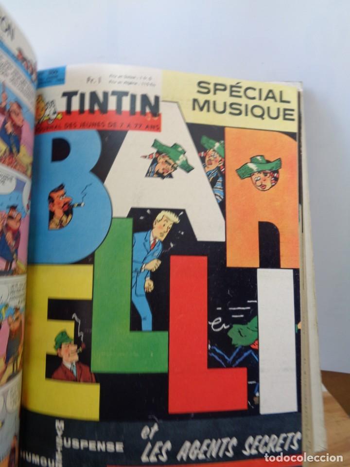 Tebeos: ¡¡ TINTIN, RECUEIL GEANT. LE JOURNAL DES JEUNES DE 7 A 77 ANS. 1963 -64. !! - Foto 14 - 238396015