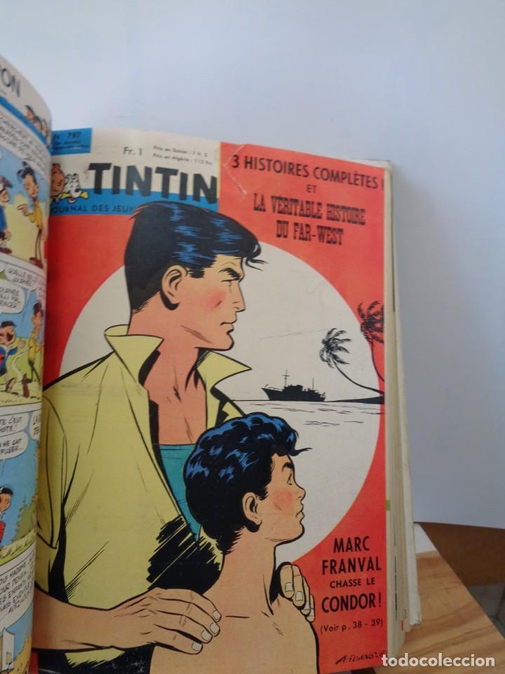 Tebeos: ¡¡ TINTIN, RECUEIL GEANT. LE JOURNAL DES JEUNES DE 7 A 77 ANS. 1963 -64. !! - Foto 16 - 238396015