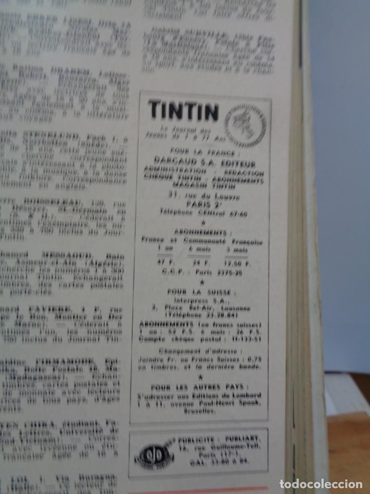 Tebeos: ¡¡ TINTIN, RECUEIL GEANT. LE JOURNAL DES JEUNES DE 7 A 77 ANS. 1963 -64. !! - Foto 17 - 238396015
