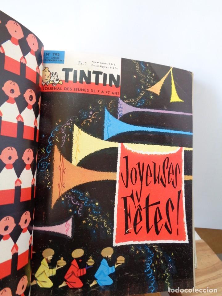 Tebeos: ¡¡ TINTIN, RECUEIL GEANT. LE JOURNAL DES JEUNES DE 7 A 77 ANS. 1963 -64. !! - Foto 28 - 238396015