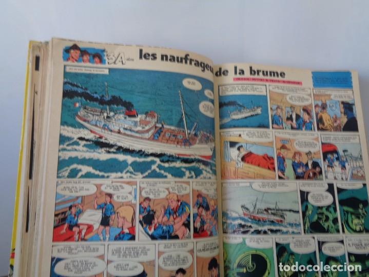 Tebeos: ¡¡ TINTIN, RECUEIL GEANT. LE JOURNAL DES JEUNES DE 7 A 77 ANS. 1963 -64. !! - Foto 30 - 238396015