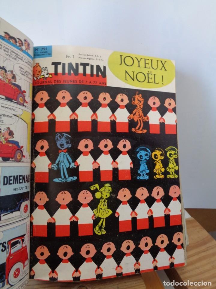 Tebeos: ¡¡ TINTIN, RECUEIL GEANT. LE JOURNAL DES JEUNES DE 7 A 77 ANS. 1963 -64. !! - Foto 33 - 238396015