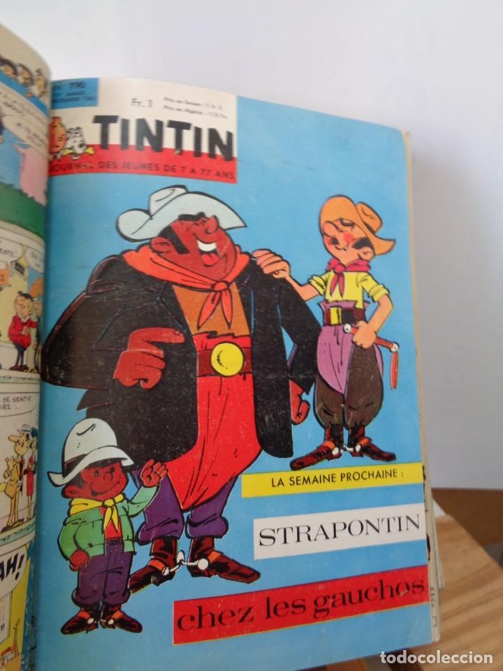Tebeos: ¡¡ TINTIN, RECUEIL GEANT. LE JOURNAL DES JEUNES DE 7 A 77 ANS. 1963 -64. !! - Foto 34 - 238396015
