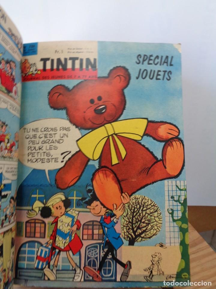 Tebeos: ¡¡ TINTIN, RECUEIL GEANT. LE JOURNAL DES JEUNES DE 7 A 77 ANS. 1963 -64. !! - Foto 41 - 238396015
