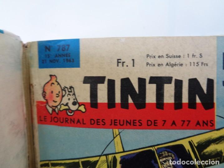 Tebeos: ¡¡ TINTIN, RECUEIL GEANT. LE JOURNAL DES JEUNES DE 7 A 77 ANS. 1963 -64. !! - Foto 45 - 238396015