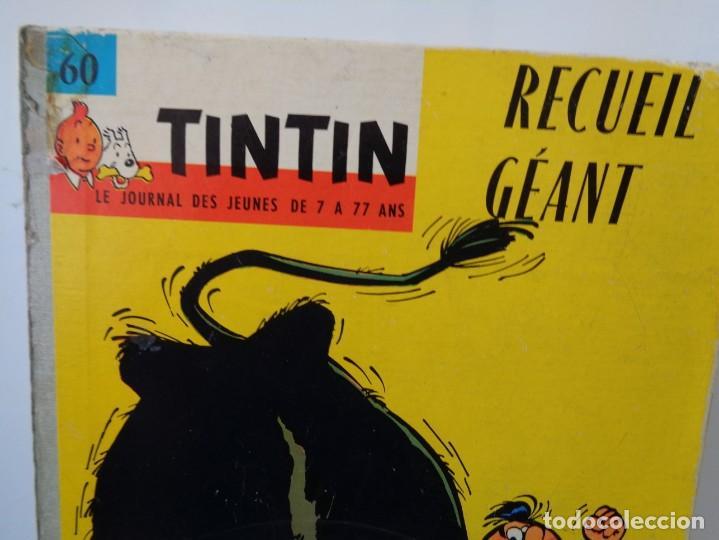 Tebeos: ¡¡ TINTIN, RECUEIL GEANT. LE JOURNAL DES JEUNES DE 7 A 77 ANS. 1963 -64. !! - Foto 47 - 238396015