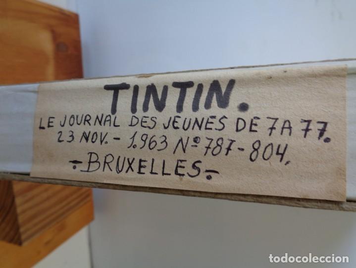 Tebeos: ¡¡ TINTIN, RECUEIL GEANT. LE JOURNAL DES JEUNES DE 7 A 77 ANS. 1963 -64. !! - Foto 51 - 238396015