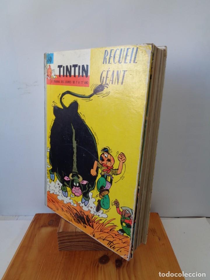 Tebeos: ¡¡ TINTIN, RECUEIL GEANT. LE JOURNAL DES JEUNES DE 7 A 77 ANS. 1963 -64. !! - Foto 52 - 238396015