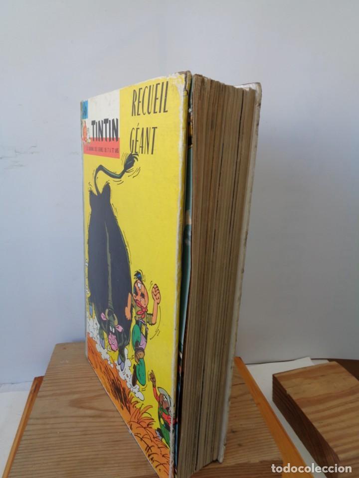 Tebeos: ¡¡ TINTIN, RECUEIL GEANT. LE JOURNAL DES JEUNES DE 7 A 77 ANS. 1963 -64. !! - Foto 56 - 238396015