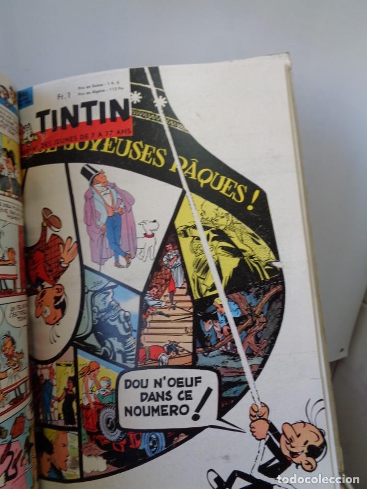 Tebeos: ¡¡ TINTIN, RECUEIL GEANT. LE JOURNAL DES JEUNES DE 7 A 77 ANS. 1963 -64. !! - Foto 58 - 238396015