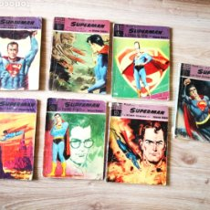 "Tebeos: LOTE DE 7 NOVELAS GRAFICAS ""SUPERMAN"" SERIE VIOLETA.. Lote 239804260"