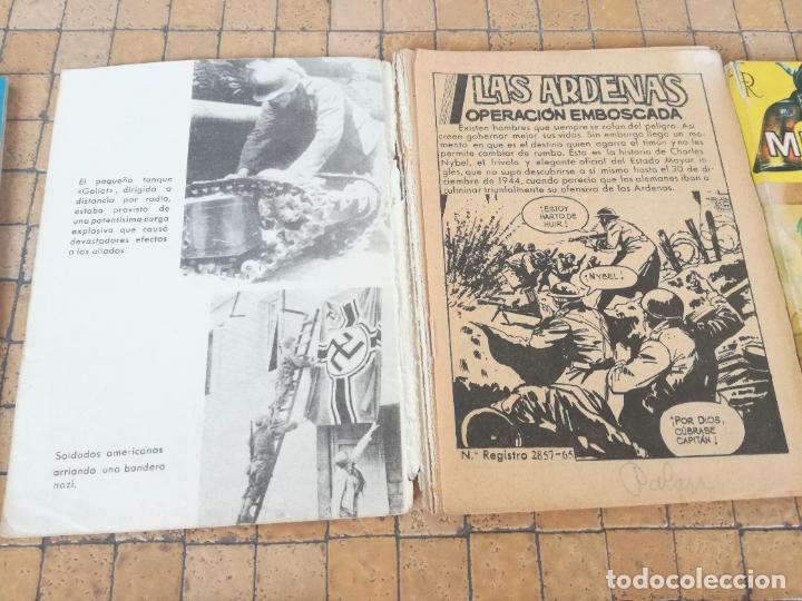 Tebeos: LOTE 10 COMICS ANTIGUOS DE GUERRA, FBI, BRIGADA, ESPIA Y OTROS DE LOS AÑOS 60 - Foto 8 - 239920865