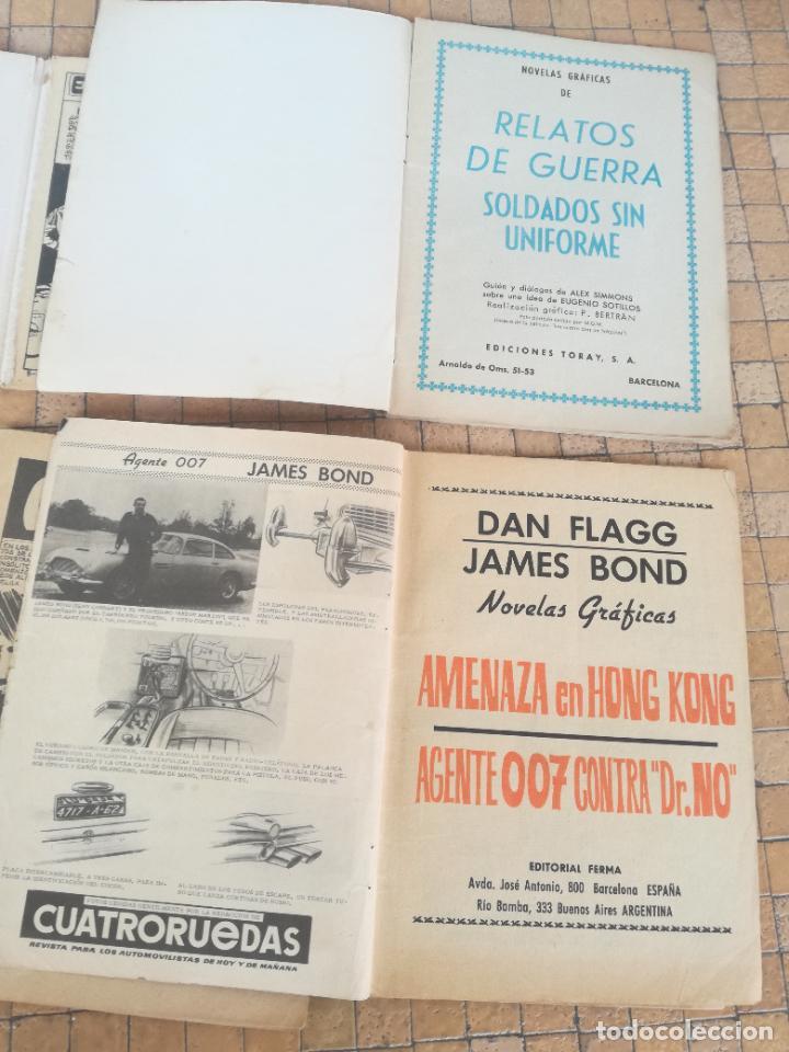 Tebeos: LOTE 10 COMICS ANTIGUOS DE GUERRA, FBI, BRIGADA, ESPIA Y OTROS DE LOS AÑOS 60 - Foto 12 - 239920865