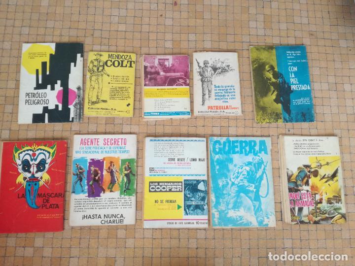 Tebeos: LOTE 10 COMICS ANTIGUOS DE GUERRA, FBI, BRIGADA, ESPIA Y OTROS DE LOS AÑOS 60 - Foto 13 - 239920865