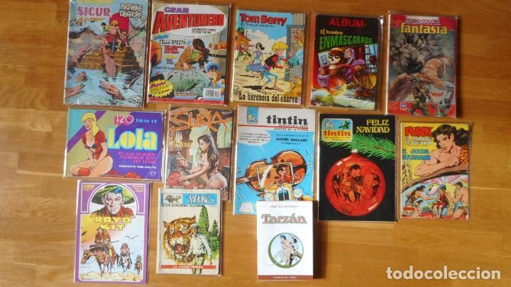 LOTE DE 13 TEBEOS VARIADOS (Tebeos y Comics - Tebeos Pequeños Lotes de Conjunto)