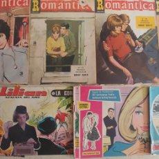 Tebeos: REVISTA JUVENIL FEMENINA LOTE DE 8 ROMANTICA GUENDALINA LILIAN AZAFATA DEL AIRE ETC. Lote 240403790