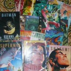 Tebeos: LOTE COMICS ALEX ROSS DC BATMAN, SUPERMAN, WONDER WOMAN, SHAZAM, LIGA DE LA JUSTICIA (VER). Lote 241038700