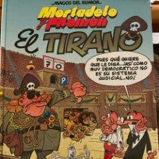 Livros de Banda Desenhada: MORTADELO Y FILEMÓN. MAGOS DEL HUMOR. EL TIRANO. Lote 241488820
