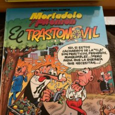 Livros de Banda Desenhada: MORTADELO Y FILEMÓN. MAGOS DEL HUMOR. EL TRASTOMOVIL. Lote 241490045