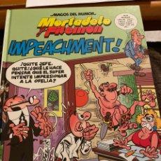 Livros de Banda Desenhada: MORTADELO Y FILEMÓN. MAGOS DEL HUMOR. IMPEACHMENT!. Lote 241737430