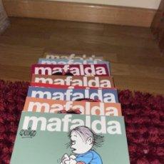 Tebeos: MAFALDA - QUINO - COLECCION COMPLETA DE 11 LIBROS (DEL 0 AL 10) - LUMEN - 1979 / 1983 - NUEVOS. Lote 241795675