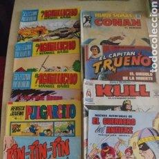Tebeos: LOTE DE 12 COMICS VARIADOS, EL GUERRERO DEL ANTIFAZ KULL CONAN. EL AGUILUCHO ETC. Lote 241857810
