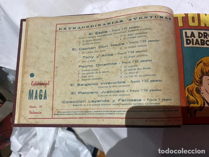 Tebeos: Tony y Anita, Año 1951 . Colección completa de 59 ejemplares encuadernados de 1a 59 . Ver fotos . - Foto 3 - 243230475