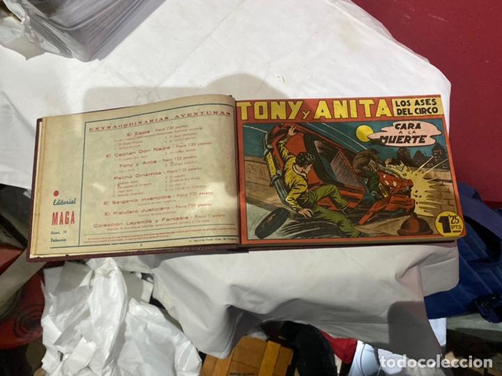 Tebeos: Tony y Anita, Año 1951 . Colección completa de 59 ejemplares encuadernados de 1a 59 . Ver fotos . - Foto 5 - 243230475
