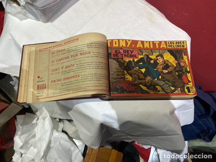 Tebeos: Tony y Anita, Año 1951 . Colección completa de 59 ejemplares encuadernados de 1a 59 . Ver fotos . - Foto 8 - 243230475