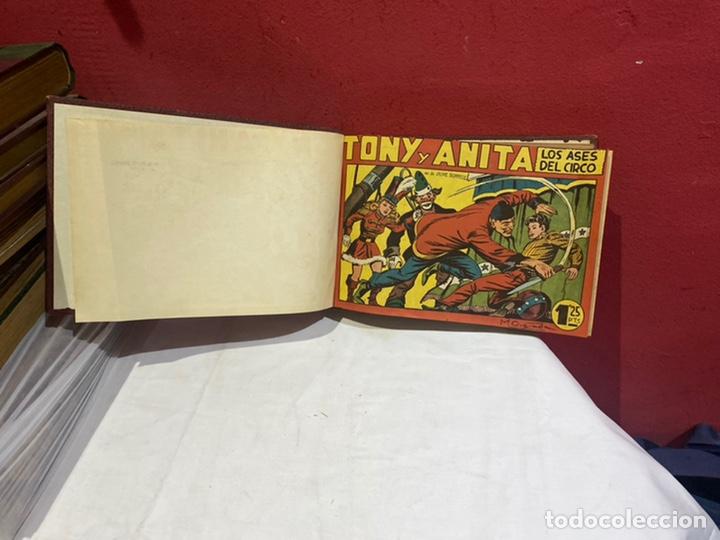TONY Y ANITA, AÑO 1951 . COLECCIÓN COMPLETA DE 59 EJEMPLARES ENCUADERNADOS DE 1A 59 . VER FOTOS . (Tebeos y Comics - Tebeos Colecciones y Lotes Avanzados)