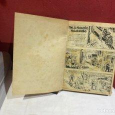 Tebeos: TIM EL PEQUEÑO VAGABUNDO. HISPANO AMERICANA 1950.ENCUADERNO ORIGINAL. VER FOTOS. Lote 243271735