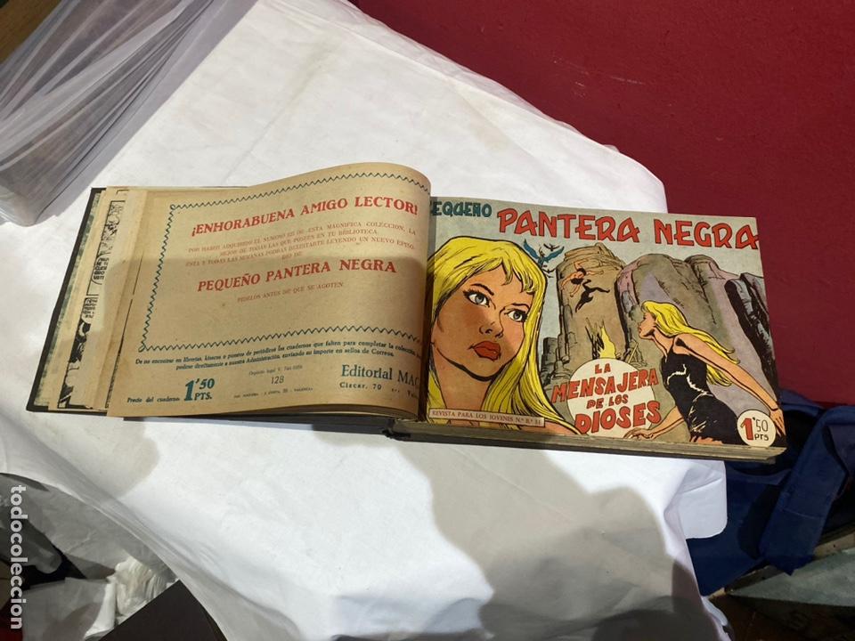 Tebeos: PANTERA NEGRA . Coleccion de 48 ejemplares originales del número 125 a 173 encuadernados en un tomo - Foto 5 - 243276655