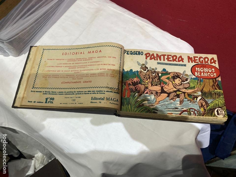 Tebeos: PANTERA NEGRA . Coleccion de 48 ejemplares originales del número 125 a 173 encuadernados en un tomo - Foto 7 - 243276655