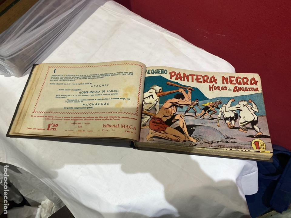 Tebeos: PANTERA NEGRA . Coleccion de 48 ejemplares originales del número 125 a 173 encuadernados en un tomo - Foto 8 - 243276655