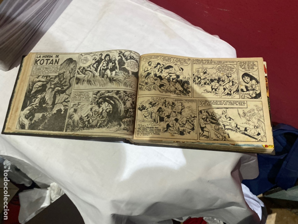 Tebeos: PANTERA NEGRA . Coleccion de 48 ejemplares originales del número 125 a 173 encuadernados en un tomo - Foto 9 - 243276655