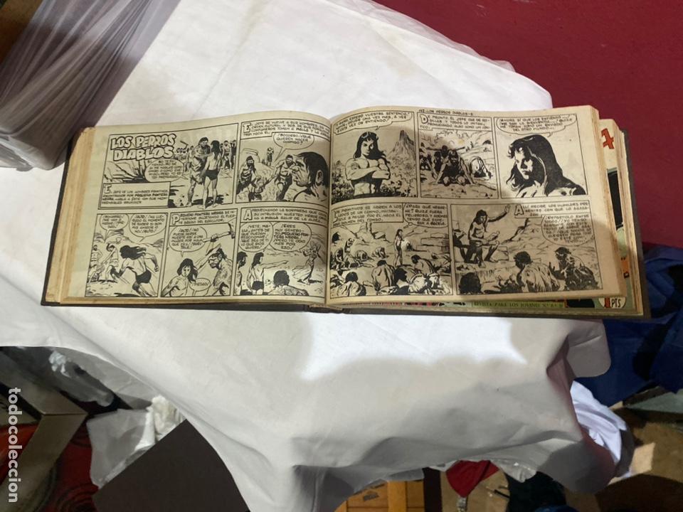 Tebeos: PANTERA NEGRA . Coleccion de 48 ejemplares originales del número 125 a 173 encuadernados en un tomo - Foto 10 - 243276655