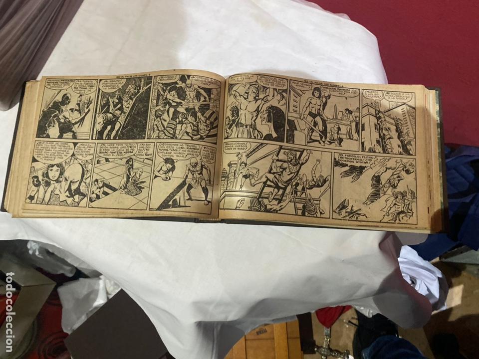 Tebeos: PANTERA NEGRA . Coleccion de 48 ejemplares originales del número 125 a 173 encuadernados en un tomo - Foto 12 - 243276655