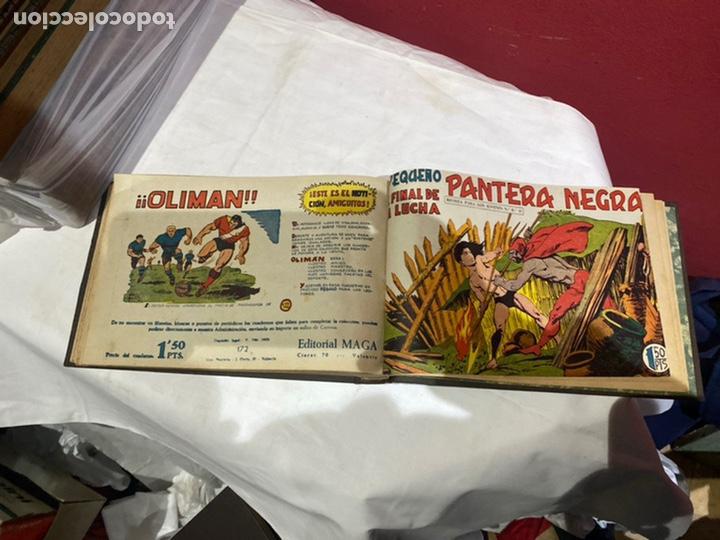 Tebeos: PANTERA NEGRA . Coleccion de 48 ejemplares originales del número 125 a 173 encuadernados en un tomo - Foto 13 - 243276655