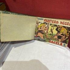 Tebeos: PANTERA NEGRA . COLECCION DE 48 EJEMPLARES ORIGINALES DEL NÚMERO 125 A 173 ENCUADERNADOS EN UN TOMO. Lote 243276655