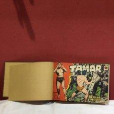 Tebeos: COLECCION COMPLETA DE 50 EJEMPLARES TAMAR ORIGINALES ENCUADERNADOS.DE 50 A 100 .EDITORIAL TORAY 1961. Lote 243335200