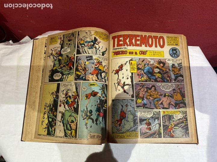 Tebeos: TERREMOTO PRESENTA APACHE Y BENGALA. Y EL CABALLERO BLANCO. 28 ejemplares encuadernados en 1 tomo . - Foto 11 - 243340195