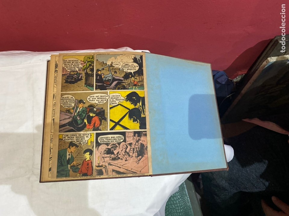 Tebeos: TERREMOTO PRESENTA APACHE Y BENGALA. Y EL CABALLERO BLANCO. 28 ejemplares encuadernados en 1 tomo . - Foto 30 - 243340195