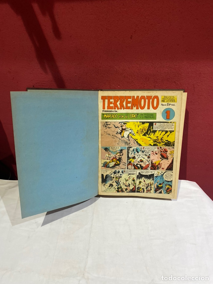 TERREMOTO PRESENTA APACHE Y BENGALA. Y EL CABALLERO BLANCO. 28 EJEMPLARES ENCUADERNADOS EN 1 TOMO . (Tebeos y Comics - Tebeos Colecciones y Lotes Avanzados)