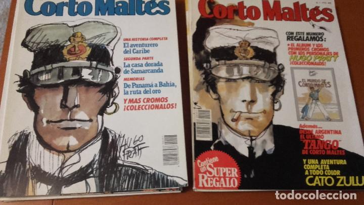 CORTO MALTÉS EDITORIAL NEW COMIC COMPLETA 15 Nº. MÁS REGALO (Tebeos y Comics - Tebeos Colecciones y Lotes Avanzados)