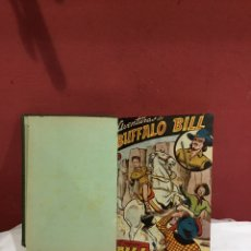 Livros de Banda Desenhada: AVENTURAS DE BUFFALO BILL . COLECCION COMPLETA DE 40 EJEMPLARES DE 1A40 ENCUADERNADOS. FERMA 1955.. Lote 243345605