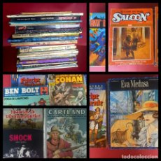 Livros de Banda Desenhada: LOTE DE 41 COMICS/TOMOS VARIADOS-FOTOS DE TODOS. Lote 243351635