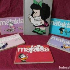 Tebeos: LOTE DE LIBROS DE MAFALDA. 10 AÑOS CON MAFALDA 1973 QUINO Y 5 LIBROS MAS EL Nº 2, 4, 6, 8 Y 10. Lote 243645280