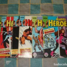Tebeos: MARVEL HÉROES 1 A 6: KITTY PRYDE WOLVERINE, COMPLETA, 1986, FORUM, MUY BUEN ESTADO. Lote 243807330